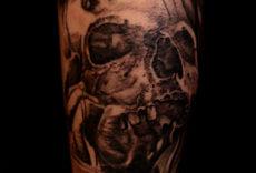 череп тату | skull tattoo