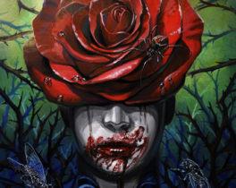 Картина «Девушка с розой»