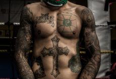 Татуировки футбольных хулиганов Бразилии